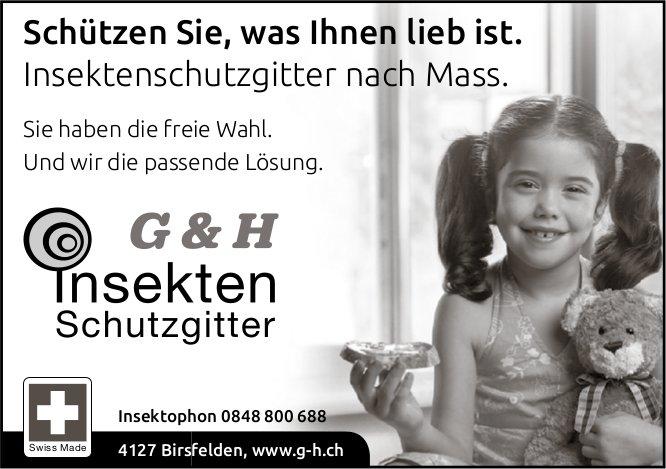 G&H Insekten Schutzgitter