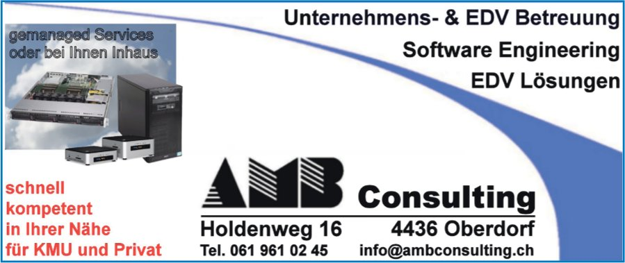 AMB Consulting, Oberdorf