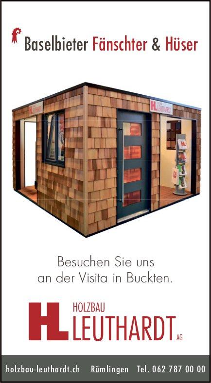 Holzbau Leuthardt, Rümlingen