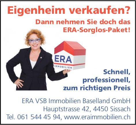 ERA VSB Immobilien Baselland GmbH, Sissach