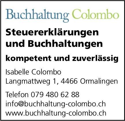 Buchhaltung Colombo, Ormalingen