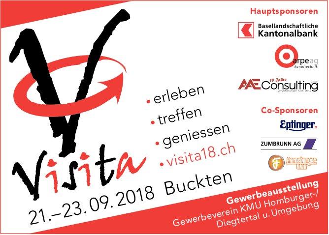 """Gewerbeausstellung """"Visita"""" vom 21. bis 23. September in Buckten"""
