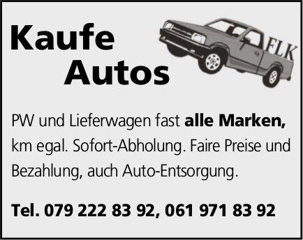 Autos aller Marken zu kaufen gesucht