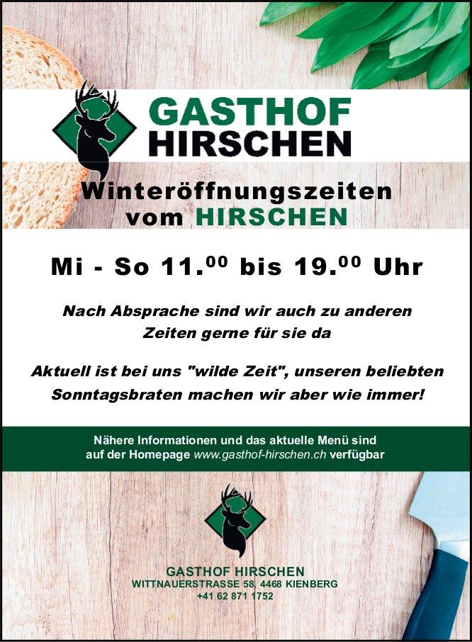 Gasthof Hirschen, Kienberg