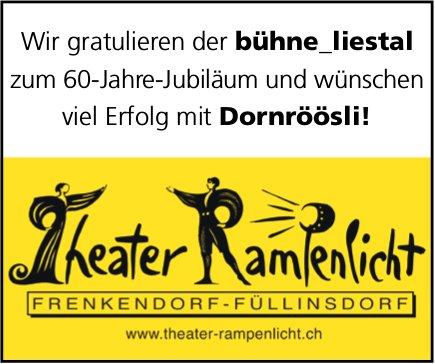60 Jahre Jubiläum Theater Rampenlicht Frenkendorf-Füllinsdorf