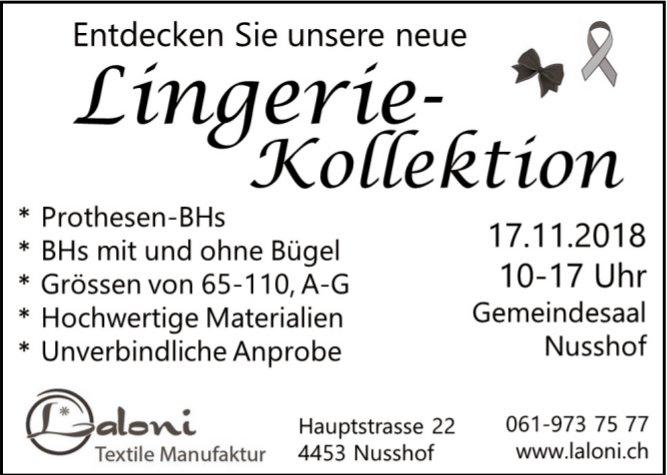 Laloni Textile Manufaktur in Nusshof