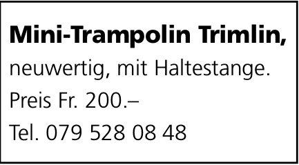 Mini- Trampolin Trimlin zu verkaufen