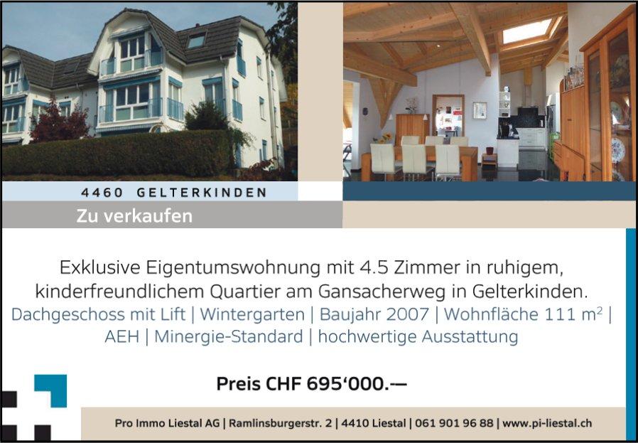 Eigentumswohnung, 4.5 Zimmer, Gelterkinden zu verkaufen