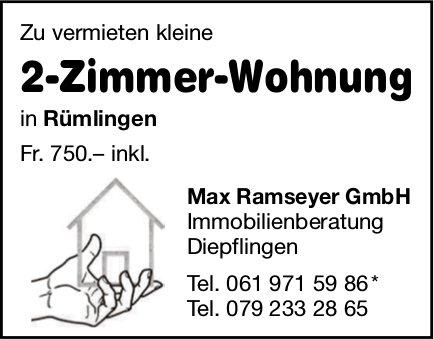 2-Zimmer-Wohnung, Rümlingen, zu vermieten