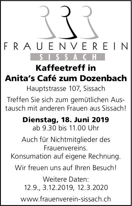 Frauenverein Sissach - Kaffetreff am 18. Juni