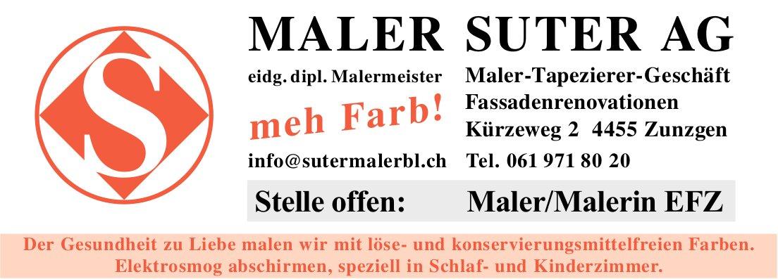 Maler Suter AG: Stelle offen