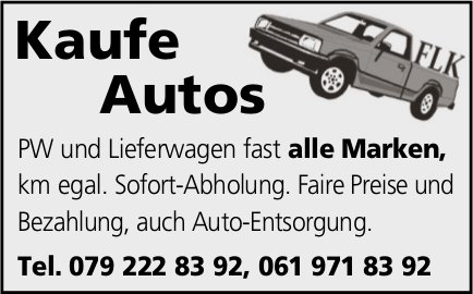 Kaufe Autos