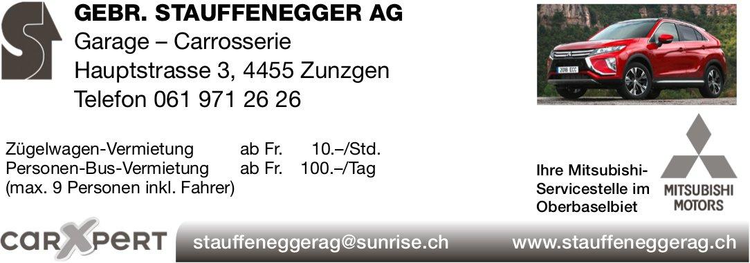 Gebr. Staufenegger AG Garage - Carrosserie