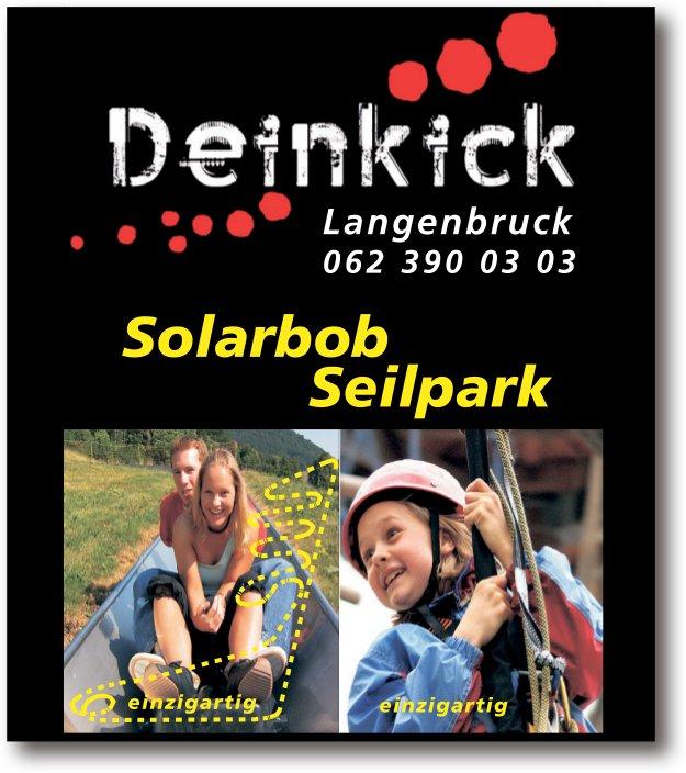Dein Kick: Solarbob, Seilpark