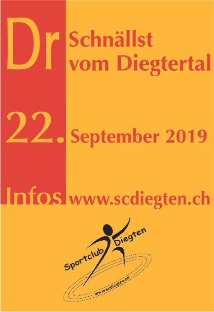 Dr Schnällst vom Diegtertal, 22. September, Diegten