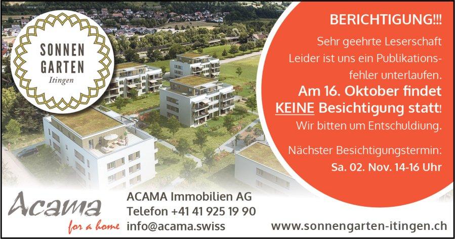ACAMA Immobilien AG - BERICHTIGUNG!!!