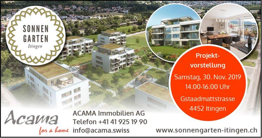 Wohnüberbauung Sonnegarten Itingen