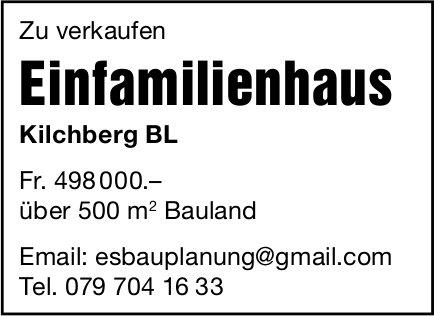 Einfamilienhaus, Kilchberg BL, zu verkaufen