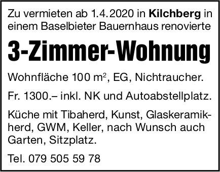 3 Zimmer-Wohnung, Kilchberg, zu vermieten