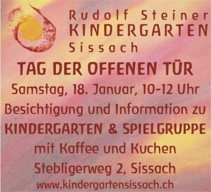 Tag der offenen Tür, Rudolf Steiner Kindergarten Sissach