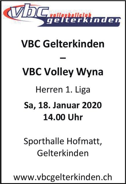 VBC Gelterkinden vs. VBC Volley Wyna am 18. Januar