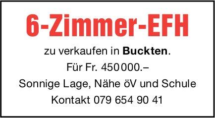 6-Zimmer-EFH, Buckten, zu verkaufen