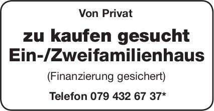 Ein-/Zweifamilienhaus von Privat zu kaufen gesucht