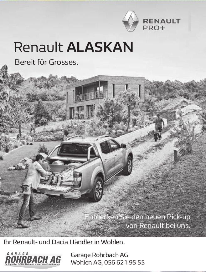Renault Alaskan, Garage Rohrbach AG