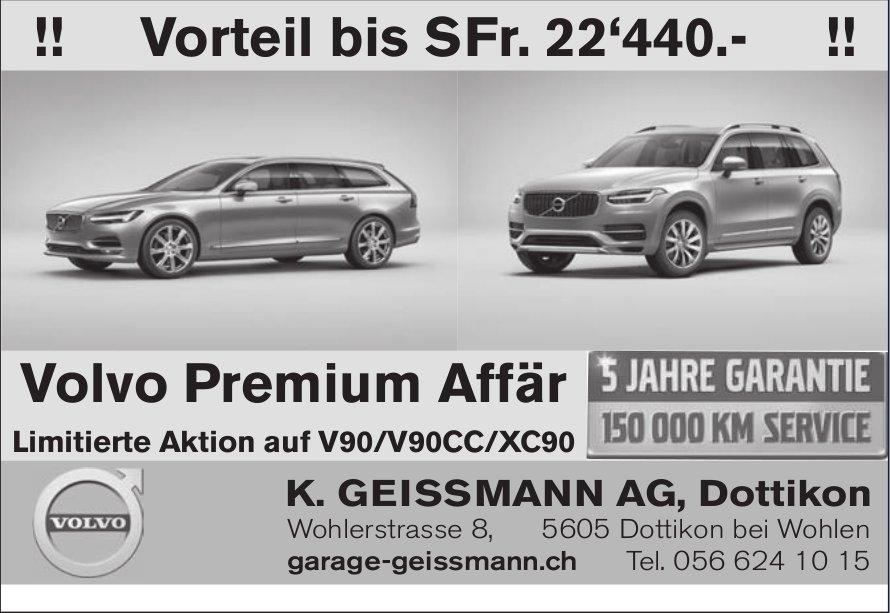 Vorteil bis SFr. 22'440.-, K. Geissmann AG