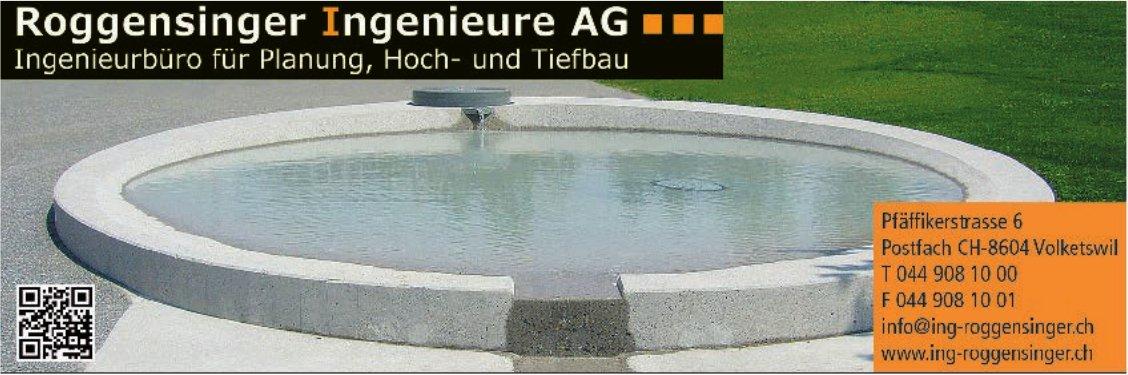 Roggensinger Ingenieure AG - Ingenieurbüro für Planung, Hoch- und Tiefbau