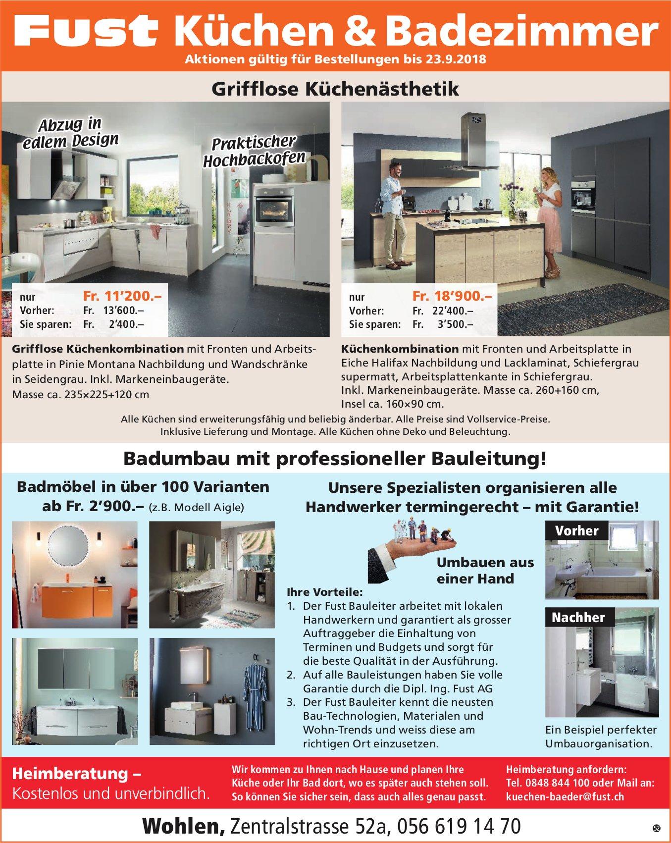Fust Küchen & Badezimmer