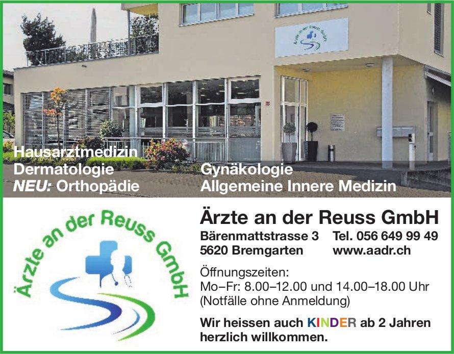 Ärzte an der Reuss GmbH - Wir heissen auch KINDER ab 2 Jahren herzlich willkommen.