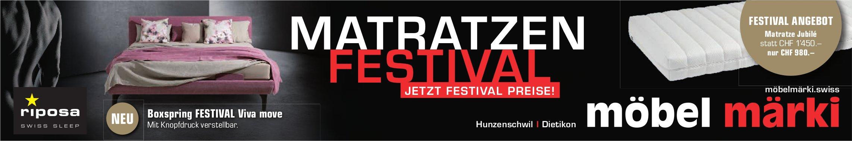 Möbel Märki Matratzen Festival