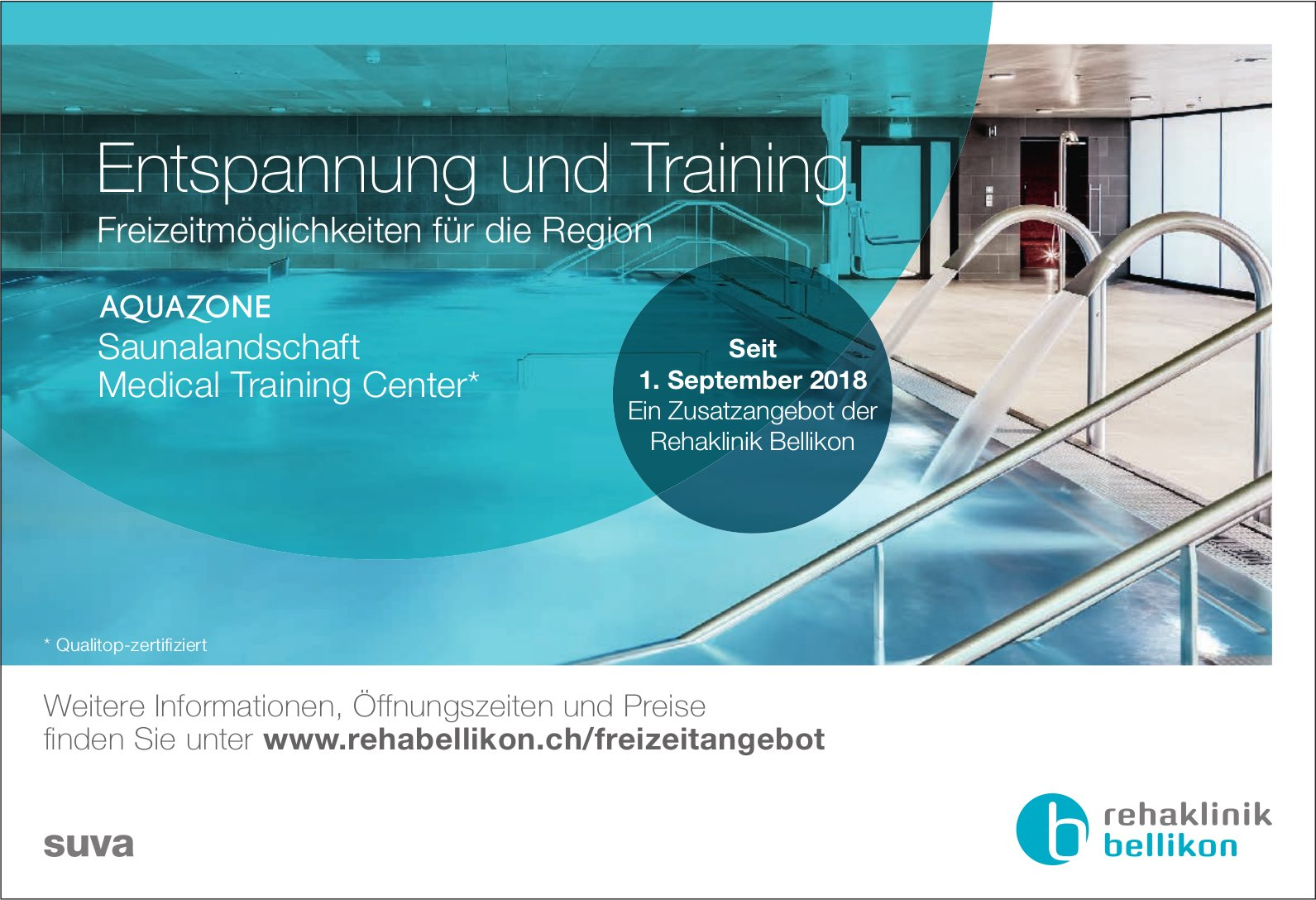 Rehaklinik Bellikon - Entspannung und Training