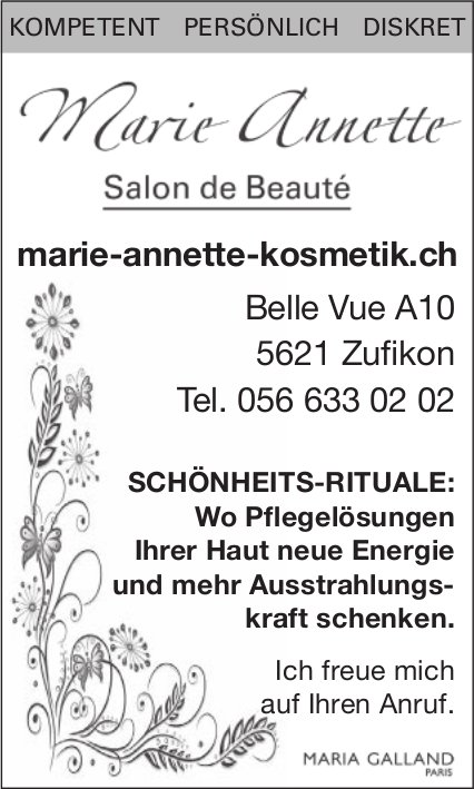 Marie-Annette, Salon de Beauté