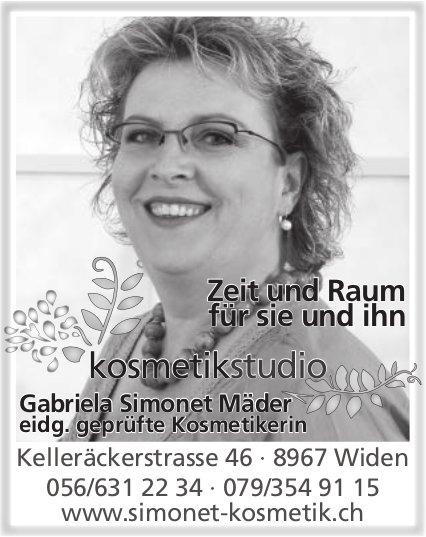 Kosmetikstudio Gabriela Simonet Mäder - Zeit und Raum für sie und ihn