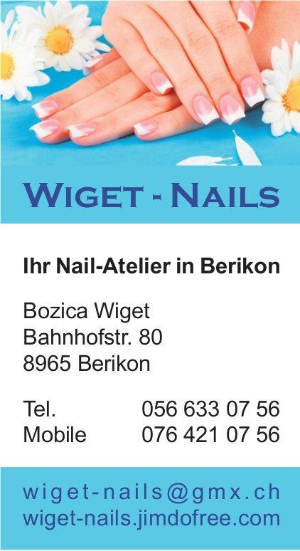 Wiget-Nails - Ihr Nail-Atelier in Berikon
