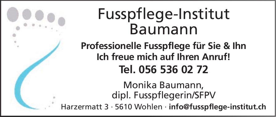 Fusspflege-Institut Baumann - Professionelle Fusspflege für Sie & Ihn