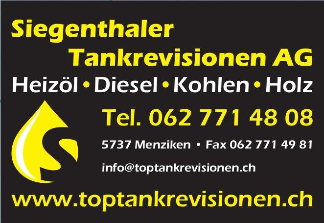 Siegenthaler Tankrevisionen AG - Heizöl, Diese,l Kohlen, Holz