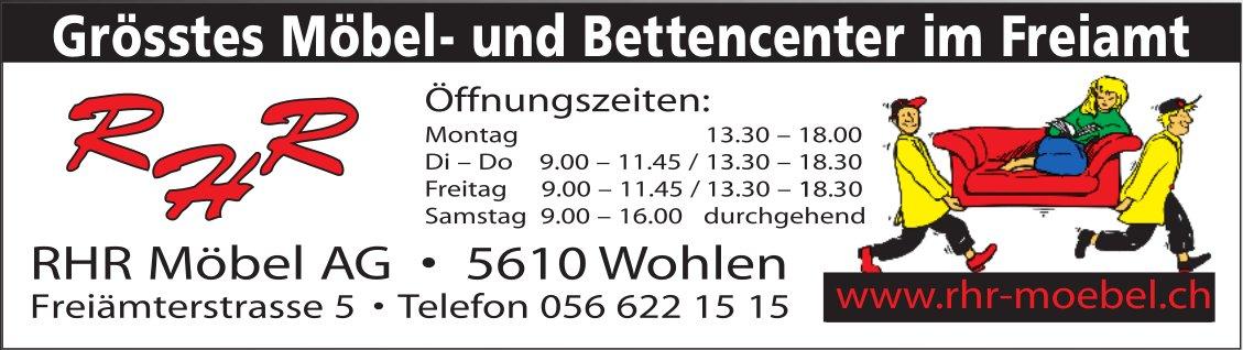 RHR Möbel AG - Grösstes Möbel- und Bettencenter im Freiamt