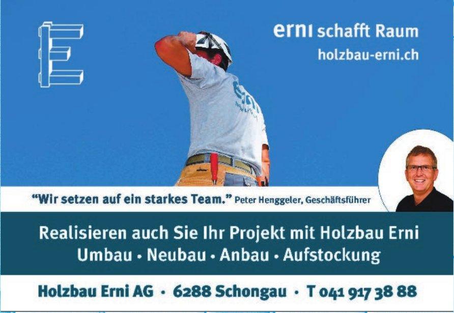 Holzbau Emi AG - Realisieren auch Sie Ihr Projekt mit Holzbau Emi