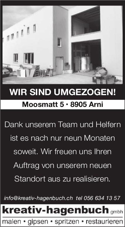 kreativ-hagenbuch gmbh - WIR SIND UMGEZOGEN!