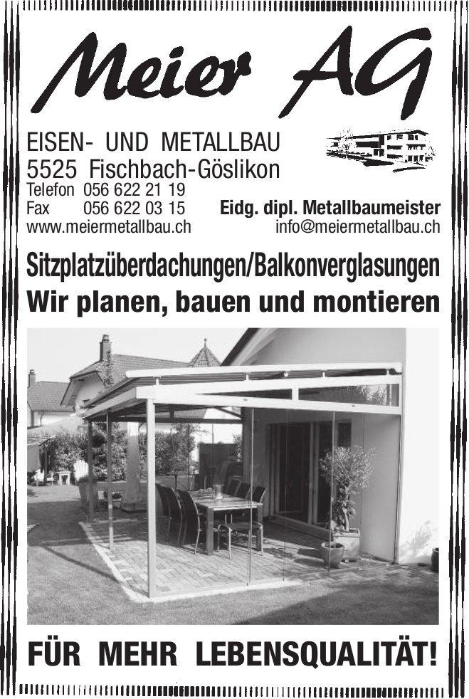 Meier AG - Wir planen, bauen und montieren für mehr Lebensqualität!