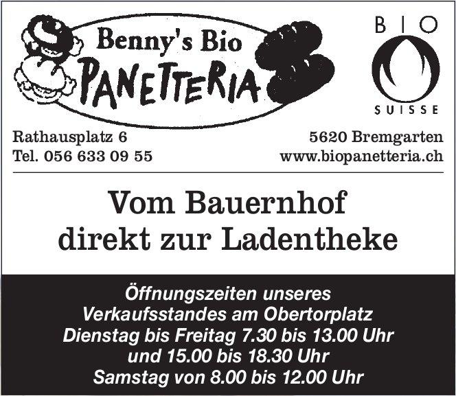 Benny's Bio Panetteria - Vom Bauernhof direkt zur Ladentheke