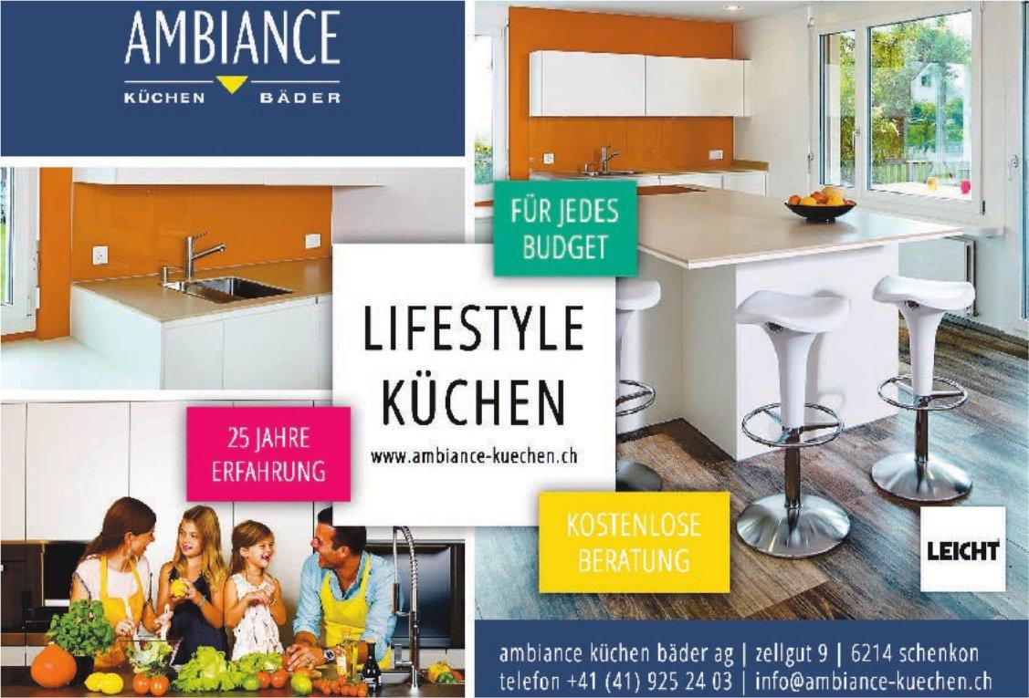 Ambiance Küchen Bäder AG - Lifestyle Küchen