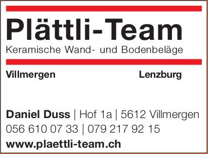 Plättli-Team - Keramische Wand- und Bodenbeläge