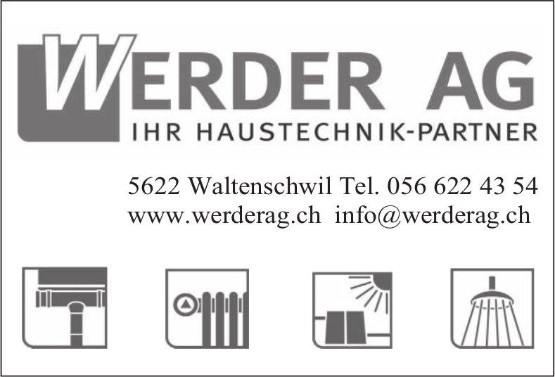 WERDER AG - IHR HAUSTECHNlK-PARTNER