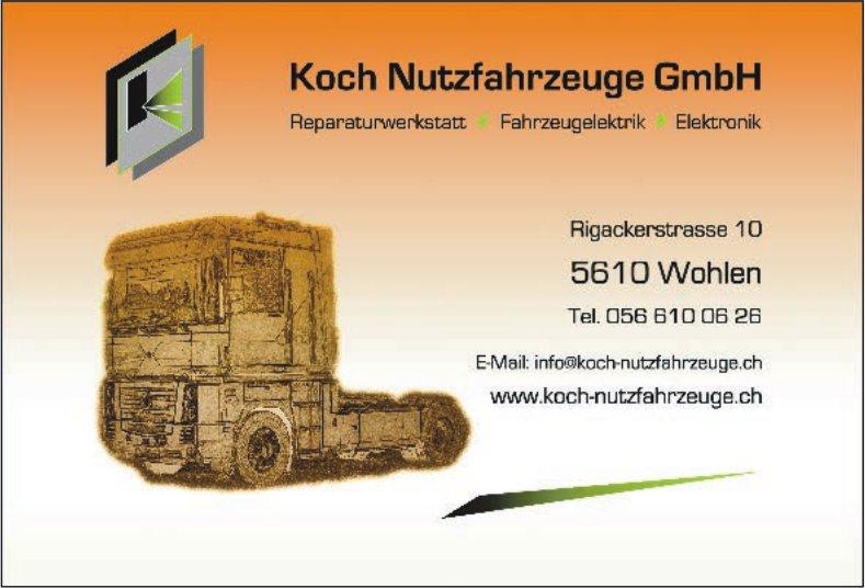 Koch Nutzfahrzeuge GmbH - Reparaturwerkstatt, Fahrzeugelektrik, Elektronik