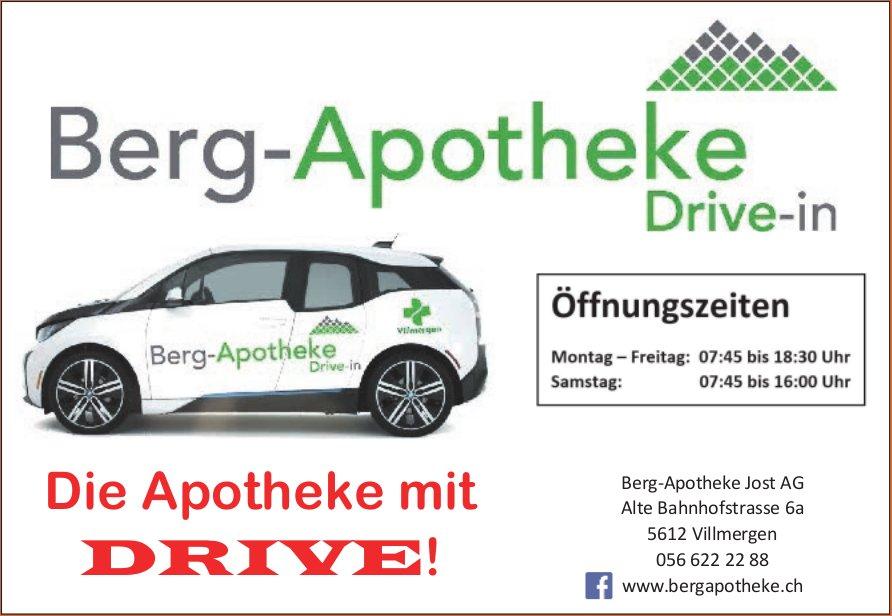 Berg-Apotheke Jost AG - Die Apotheke mit DRIVE!