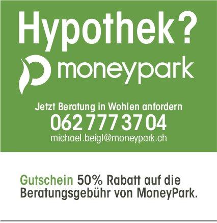 Hypothek? Gutschein 50% Rabatt auf die Beratungsgebühr von MoneyPark.